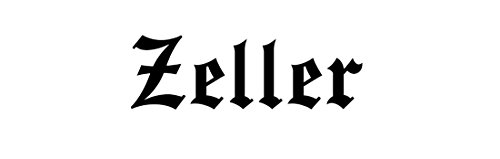 zeller-family-sticker-decal-bumper-window-laptop-old-english-font-black