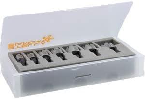 Fresa a tazza T.C.T tubi Indicata per superfici curve e scatolati /Ø16 per INOX serie lunga con denti in metallo duro saldobrasati per realizzare fori nellacciaio inossidabile e metalli tenaci