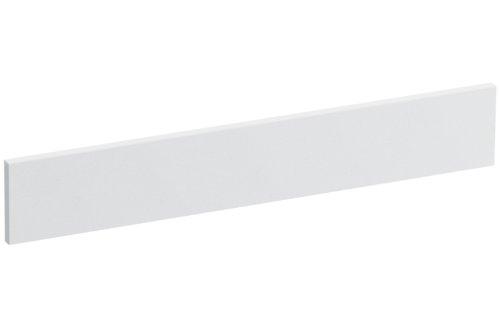Solid/Expressions Universal Side Splash Kit, White Expressions - Solid Surface Backsplash
