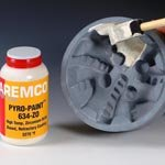 Pyro-Paint 634-ZO Zirconium Oxide Protective Coating for Graphite, Ceramic and Metal, Pint