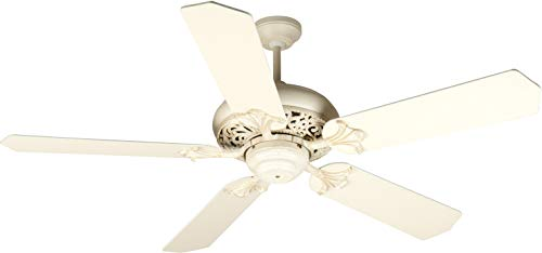 Antique White Ceiling Fan - Craftmade K10325 Mia 52