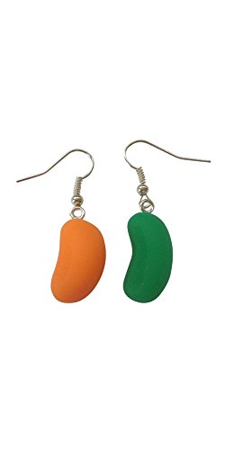 Candy Jelly Bean Earrings (colours vary at random)