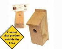 Songbird Essentials DIY Build A Birdhouse Chickadee Kit. Made of Cedar Wood. Great Project for Kids
