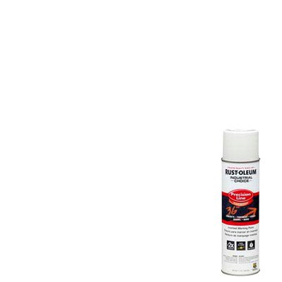 Industrial Choice M1600/M1800 System Precision-Line White Inverted Marking Paint [Set of 12]