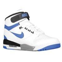 NIKE Men's Air Revolution Basketball Shoes, White/Game Royal/Black