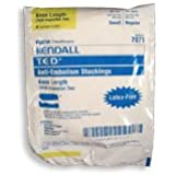 Ted Anti-embolism Stockings Knee Length Open Toe, White, Small/Regular Length - 1 ea by Kendall T.E.D.
