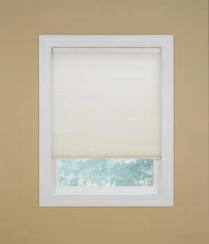 Saver Cellular Shades, 3/4 Inch Single Cell Shades, 24W x 36H, Snow (Blinds Graber Pleated Shades)