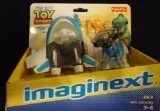 Imaginext Disney Pixar Toy Story Rex with Spaceship New Fisher-Price by Fisher-Price