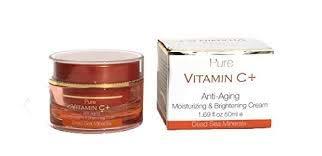 Vitamin C Anti Aging Night Cream, White, 7.5 cm x 5.5 cm