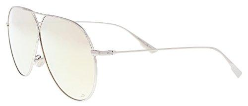 (Christian Dior Women's DiorStellaire3 010/SQ Palladium Pilot Sunglasses 65mm)