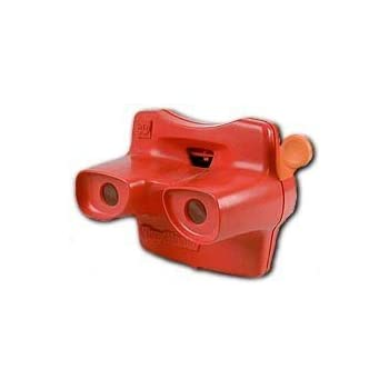 RED Classic ViewMaster 3D Viewer and Collector Reel