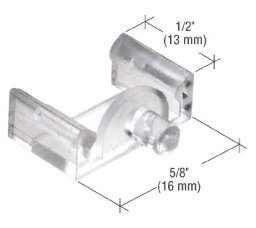 CRL Clear 5/8 x 1/2 Window Grid Retainers - Carded by CR Laurence by CR Laurence ()