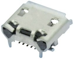 - FCI - 10103594-0001LF - Micro USB B, Receptacle, 5POS, SMT RT Angle