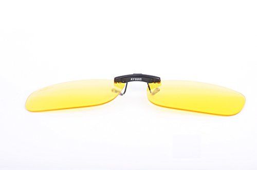 AHT Night Vision Glasses Clip-on,Anti Glare from Headligh...