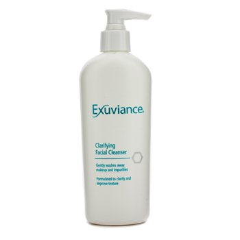 exuviance clarifying facial cleanser recension