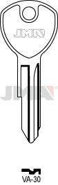 5 X VA-30 JMA/VACHETTE Clés/Key Blanks/LLAVES/CHIAVI