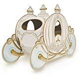 Club Pack of 12 Decorative Gold 3-D Cinderella Pumpkin Carriage Centerpieces 11''