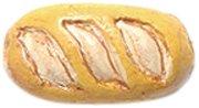 Peruvian Shipwreck Hand Crafted Ceramic French Baguette Beads, 14mm, 4 Per Pack