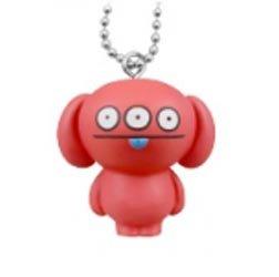 Ugly Doll Yawaraka (Soft) Mascot Keychain - Peaco
