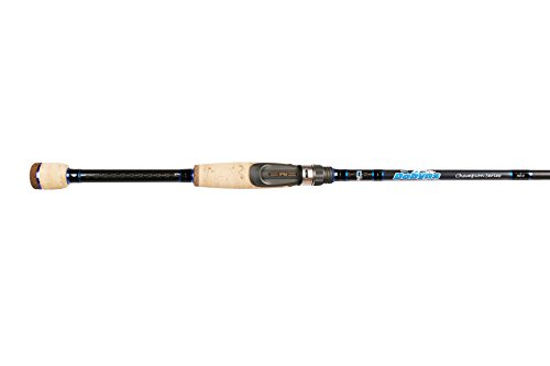 Dobyns Rods 703SF Champion Series Fast Spinning Rod, 7 0 Medium, Black Blue