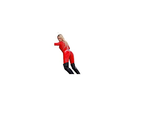 Palmer Boutique - Vestido - para mujer Rojo rosso talla única