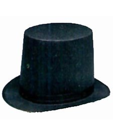 Abe Lincoln Felt Stovepipe Hat - Lincoln Stove