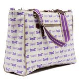 Tote Bag, Purple Dragonflies ()