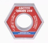 Loctite 1372603-10PK QuickTape 249 Blue 260'' Medium Strength Thread Locker Roll, (Pack of 10) by Loctite