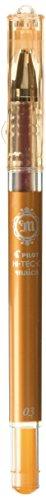 Pilot Hi-Tec-C Maica Gel Ballpoint Pen, Apricot Orange Extra Fine - Gel Apricot