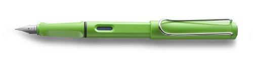 Lamy Safari Green Fine Point Fountain Pen - L13GN-F