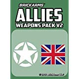 BrickArms Allies Pack V2 2018 New! (Best Weapons Of Ww2)