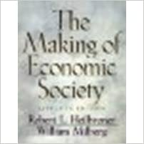 The Making of Economic Society by Heilbroner, Robert L, Milberg, William [Prentice Hall, 2001]11th Edition