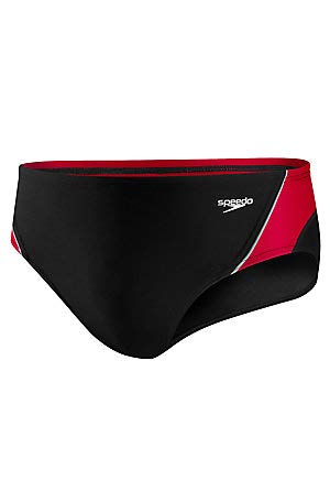 Top speedo swimsuit men red and black for 2020