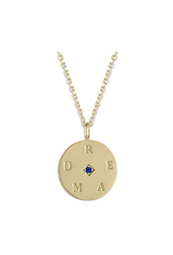 Lulu Dk Dream Necklace | 14k gold plated brass