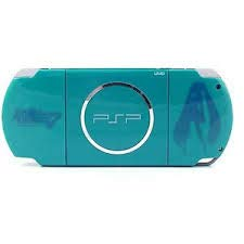 New Sony Playstation Portable PSP 3000 Series Handheld Gaming Console System (Renewed) (Teal)
