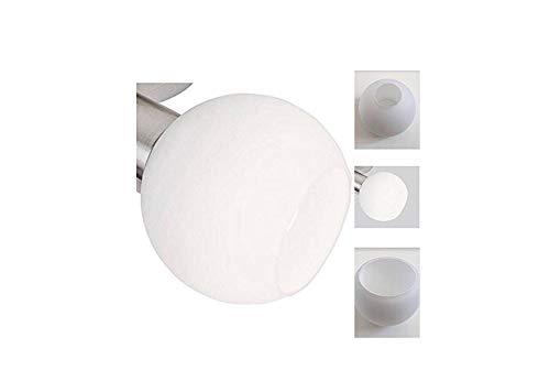 Lámpara Pantalla de 3/4 set loxy E14, cristal, vidrio ...