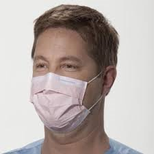 Kimberly-Clark 47095 Tecnol Procedure Mask with Earloops, 500ct, Pink by Kimberly Clark