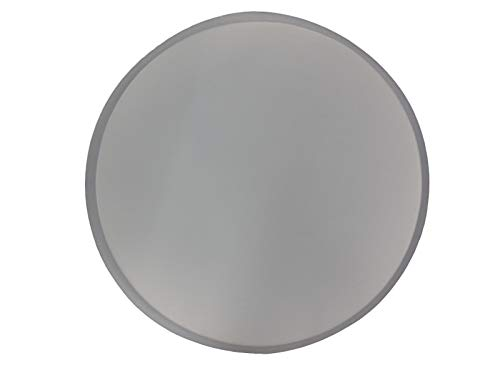 16in Plain Smooth Round Stepping Stone Concrete or Plaster Mold 2038