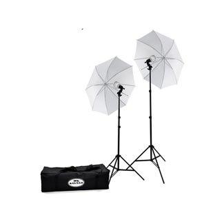 Savage 500W LED Studio Light Kit (Savage Light Stands)