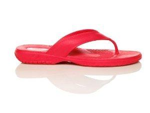 Classic Flip Flop Pomegranate, M Size 6.5 - 7.5 Women's (M)