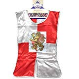 Liontouch Prince Lionheart Cape Dress Up Costume Red and Silver Accessory Gift for Kids Ages 3 to -