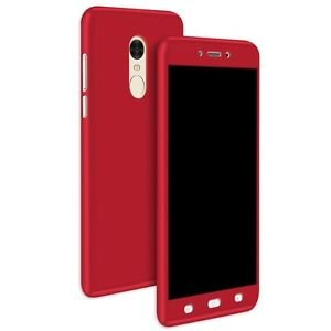reputable site c9f84 c29d3 360 Degree Full Body Protection Front & Back Case Cover for ((XIAOMI REDMI  NOTE 4 [2017] /) RED (i PAKY STYLE)
