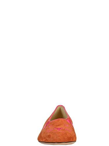Charlotte Olympia Damen F151139sue200 Multicolour Samt Mokassins