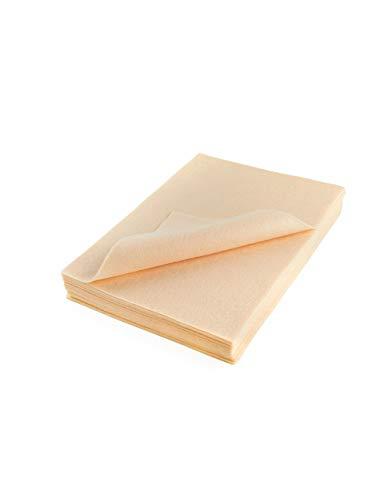 (Acrylic Craft Felt Packages (25pcs/pack), Flesh )