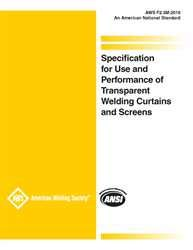 F2.3M:2019 SPECIFICATION FOR USE AND PERFORMANCE OF TRANSPARENT WELDING CURTAINS AND SCREENS