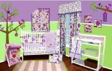 Best Bacati Baby Cribs - Bacati Botanical Purple 10 Piece Crib Bedding Set Review