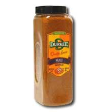 Durkee Ground Mace - 16 oz. container, 6 per case