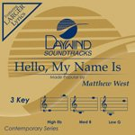 Hello, My Name Is [Accompaniment/Performance Track] - Name Accompaniment Cd