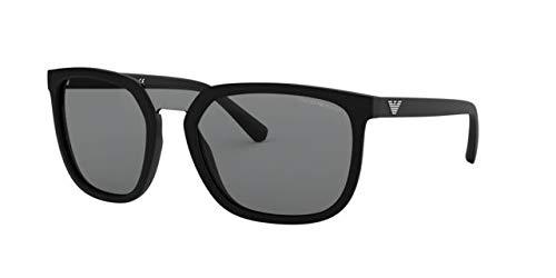 Emporio Armani 0EA4123, Gafas de sol para Hombre, Black 45 ...