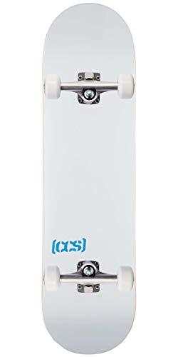 CCS Logo and Natural Wood Skateboard Completes